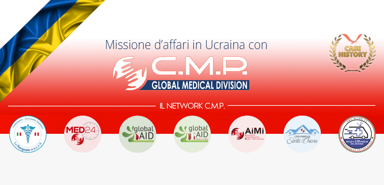 Missione in Ucraina con CMP Global, leader in ambito sanitario