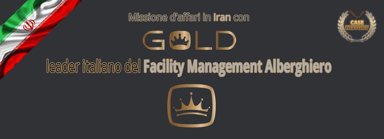 In Iran con GOLD Srl per il facility management alberghiero
